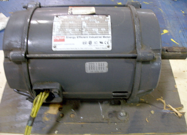 DAYTON 3 hp Motor, Model No. 3KW34A ,