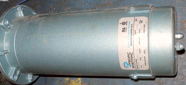 Pacific Scientific 1 2 Hp Motor Dc