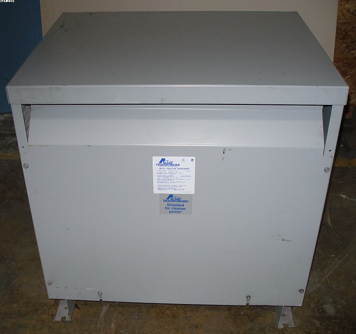 ACME Isolation Transformer, 51 KVA,