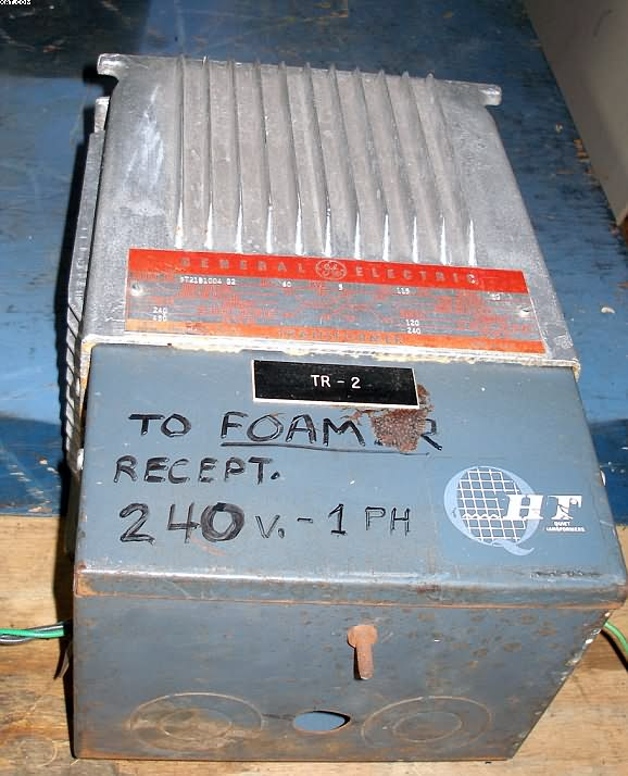 GENERAL ELECTRIC Step down Transformer, 5 kva,