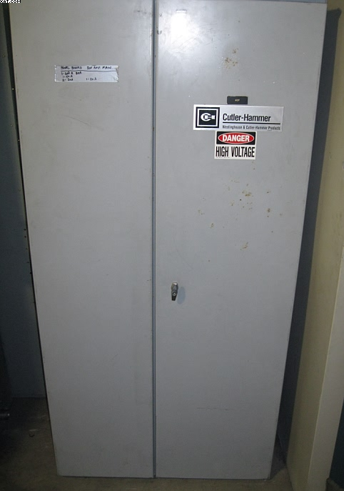 CUTLER-HAMMER 800 amp Disconnect Panel,