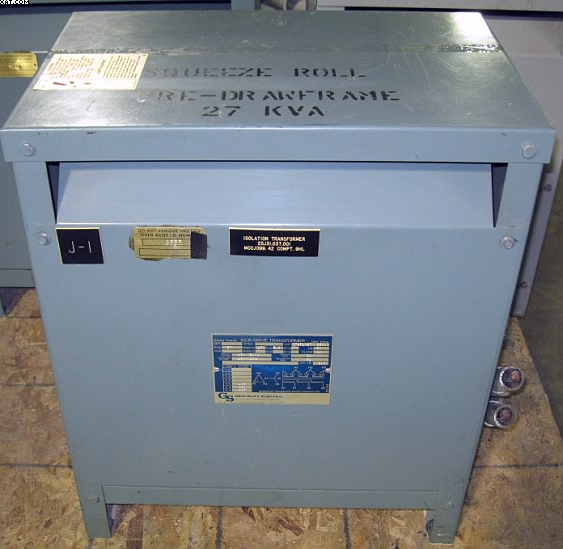 GS HEAVY DUTY ELECTRIC Isolation Transformer,