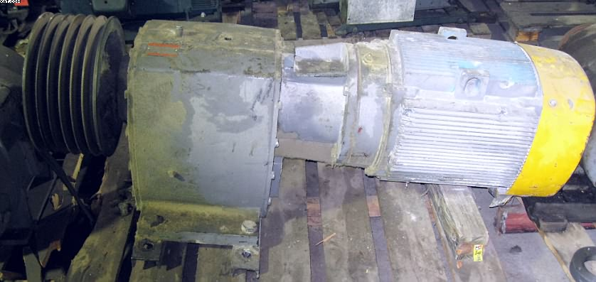 GENERAL ELECTRIC Motor with Gearbox,