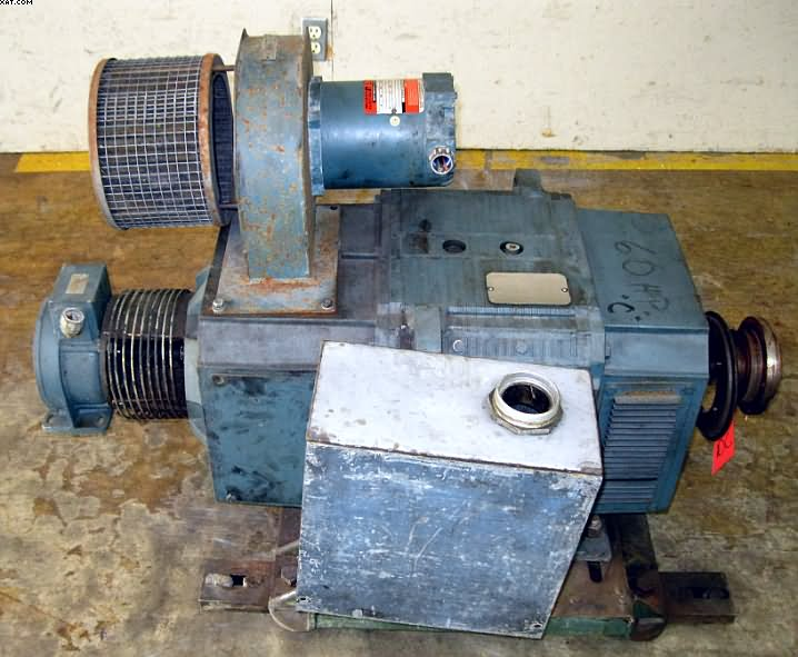RELIANCE Super RPM Motor, 60 hp,