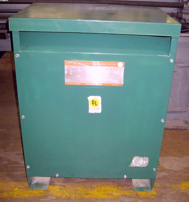 GENERAL ELECTRIC Step Down Transformer, Model 9T23 B 3872,