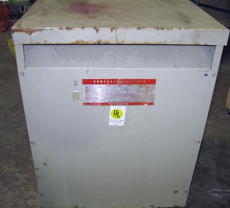 GENERAL ELECTRIC Stepdown Transformer, 40 kva,