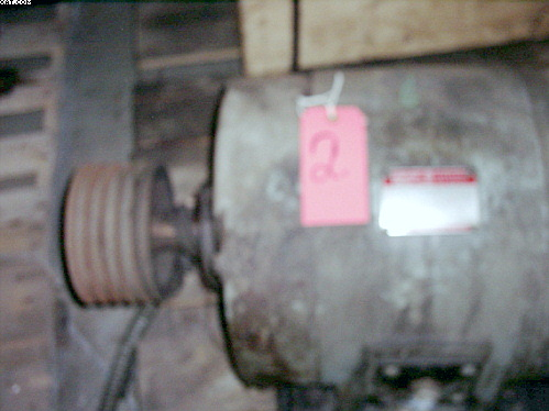 G.E. Tri-Clad 25 hp Induction Motor, AC,