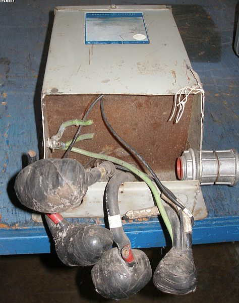 GENERAL ELECTRIC Step down Transformer, 3 kva,