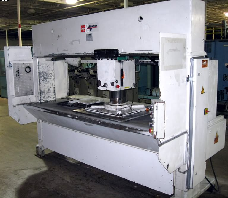 SCHOEN/SANDT MODEL-7072M Traveling Head Die Cutters, 1999 year,