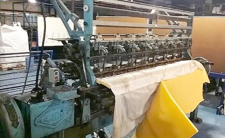 "EMCO 84"" Multineedle Quilter, Model 8413,"
