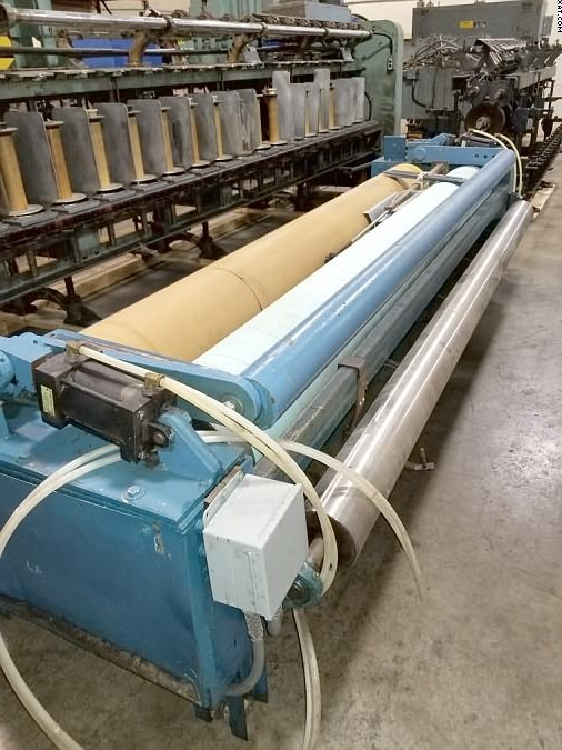 "UNKNOWN Winder, 120"" wide with 13"" diameter rolls,"