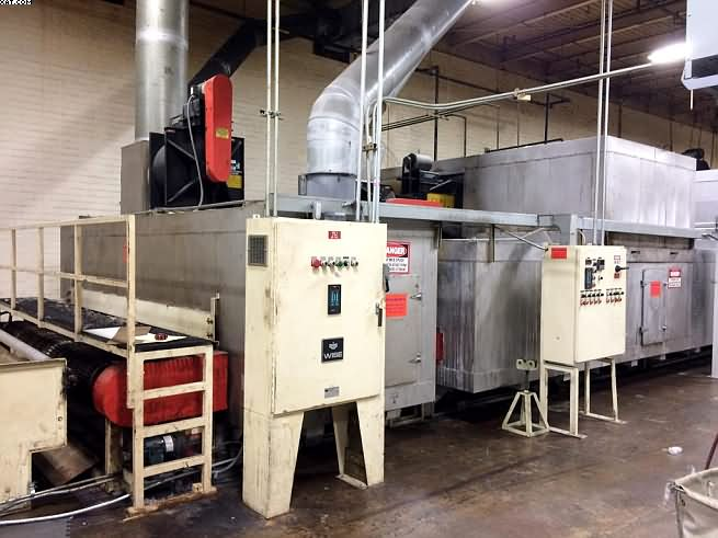 "PERPETUAL Oven, 130"" wide x 90? long belt,"