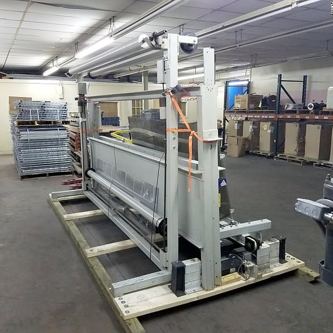 "ANDERSON Panel Cutter 120"" Flat Stacker."