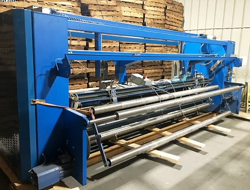"STENTEX Automatic Winder, 150"" wide, 1999 yr,"