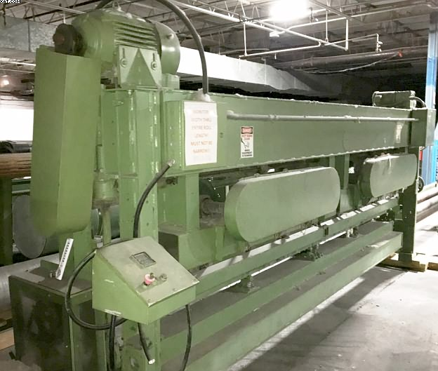 "HUNTER Model 15 Tacker, 160"" wide, 15 needles/inch,"