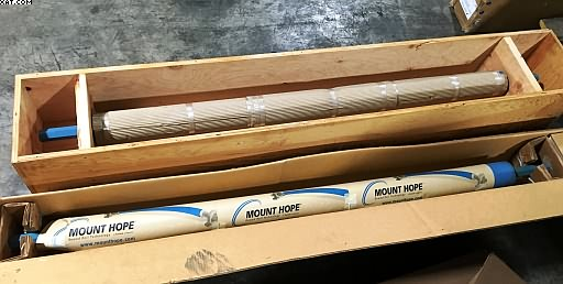 "MOUNT HOPE Bowed / Spreader Roll, NEW, 4.25"" dia x 66"""