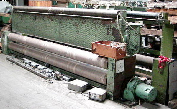 "CUTTING MACHINERY (Ulster) Winder / Roll - Up, 186"" wide,"