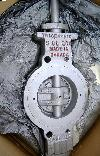 "TRICENTRIC 6"" 300# Triple offset buttefly valve, NEW,"