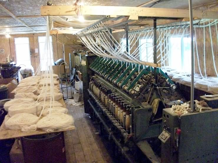 Worsted & Semi-Worsted Cottage Spinning Mill, consisting of: