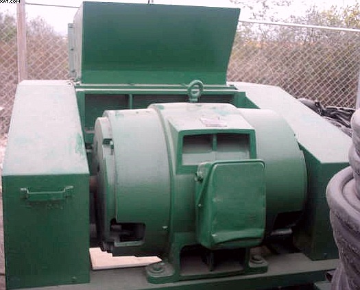 "FOREMOST Model S-30 Grinder, 100 hp, 15x30"" throat,"