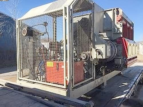 LINDNER Single Shaft Shredder Model MS2000