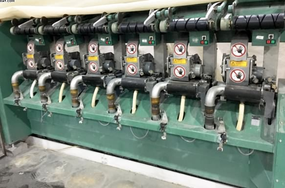 FEHRER DREF 2 Friction Spinning Machine, type 2/94 FT, 1999 yr,