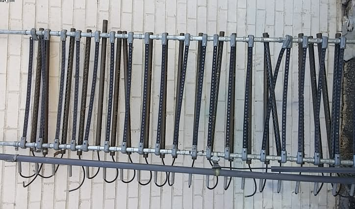Static Elimination Bars, ~720 positions ends each,