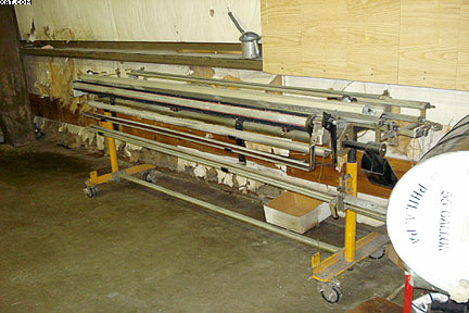 USTER TOPMATIC Tying machine,