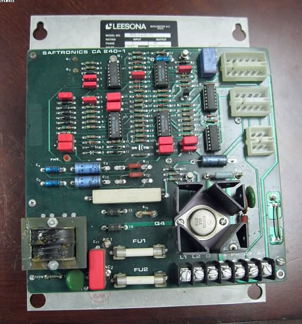 LEESONA Drive panels, SAFETRONIC Model 968-1492-51,