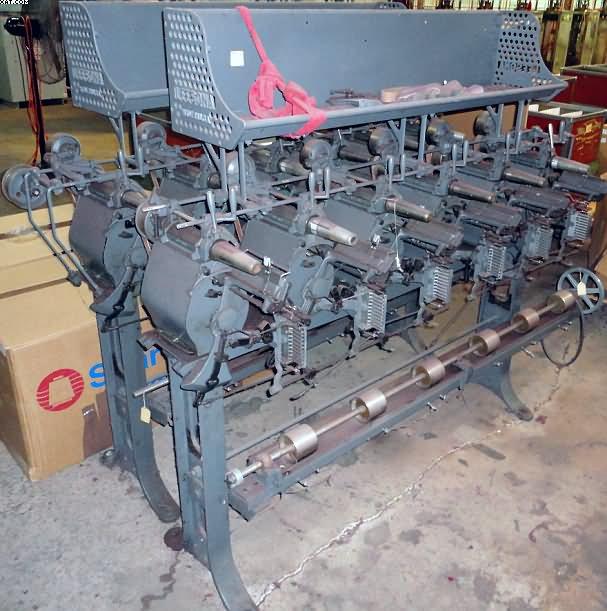 Leesona 50 winder 6 spindles each for Electric motor winder jobs in saudi arabia